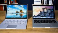 Surface Book vs. MacBook Pro im Vergleich