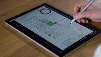 Windows 10 Redstone: Systemweites Radialmenü für Stifte in Apps geplant