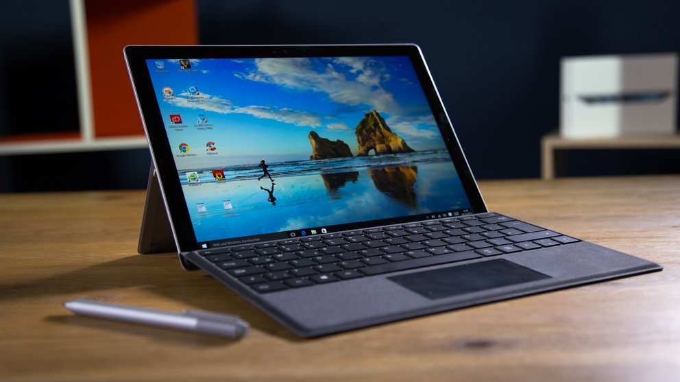 Video-Bild: Surface Pro 4 Test