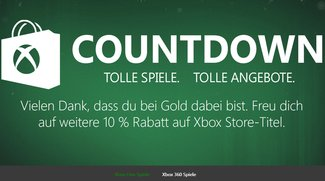 Der Xbox Live Countdown Sale geht in die zweite Runde!