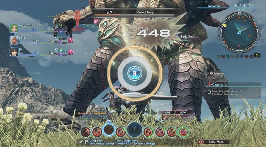 Xenoblade Chronicles X Potential
