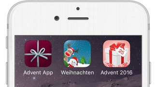 Adventskalender-Apps 2016 für iPhone – garantiert kalorienfrei
