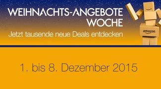 Amazon legt nach: Weihnachts-Angebote-Woche mit vielen Tages- und Blitzangeboten gestartet