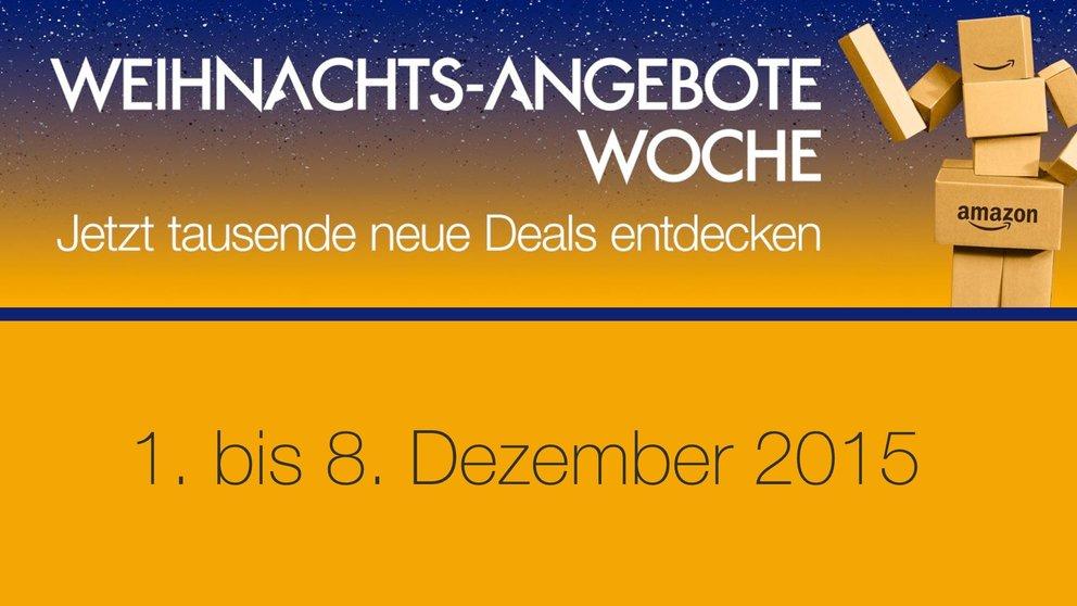 Amazon legt nach: Weihnachts-Angebote-Woche mit vielen Tages- und ...