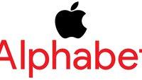 Google könnte Apple als wertvollstes Unternehmen der Welt überholen
