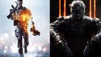 Call of Duty vs. Battlefield: Wer gewinnt den Kampf im nächsten Jahr?