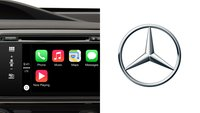 Diese Mercedes-Modelle sind mit CarPlay kompatibel