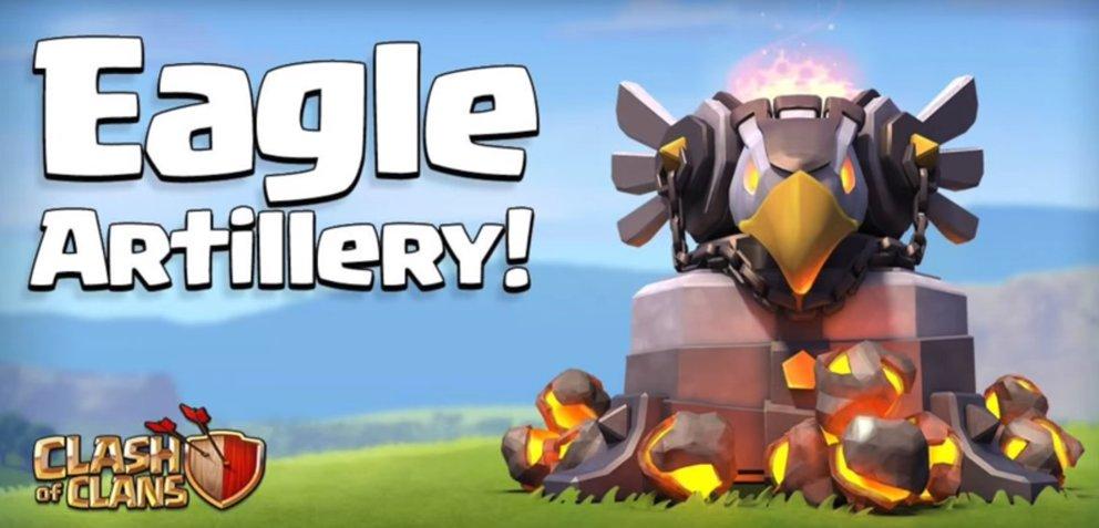 Die adler artillerie aus dem neuen Clash of Clans dezember update