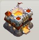 das rathaus auf level 11 aus dem neuen clash of clans update