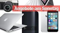 Angebote bei Amazon und Saturn: iPhone 6, MacBook Air, Canon Eyefi, iPad-Tastatur und mehr