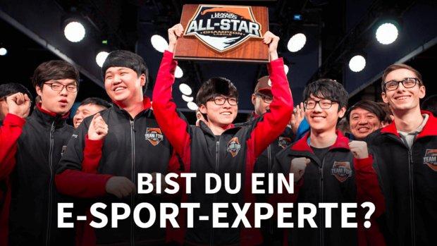 Bist du ein E-Sport-Experte? Beweise dein Wissen im Quiz!