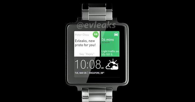 HTC One Watch: Eigene Smartwatch wird im Februar vorgestellt [Gerücht]