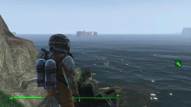 Fallout 4: Unterwasser-Geheimnisse - Karte mit Schätzen und Secrets