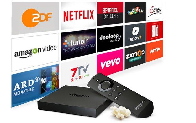 Amazon Fire TV (2015) mit 4K: Nur heute für Prime-Mitglieder 35 Euro günstiger
