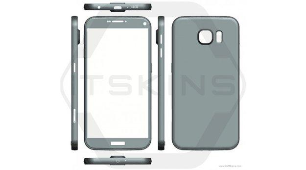 Samsung Galaxy S7 und S7 Plus: Erste Render-Bilder verraten Form und Größe der Flaggschiffe