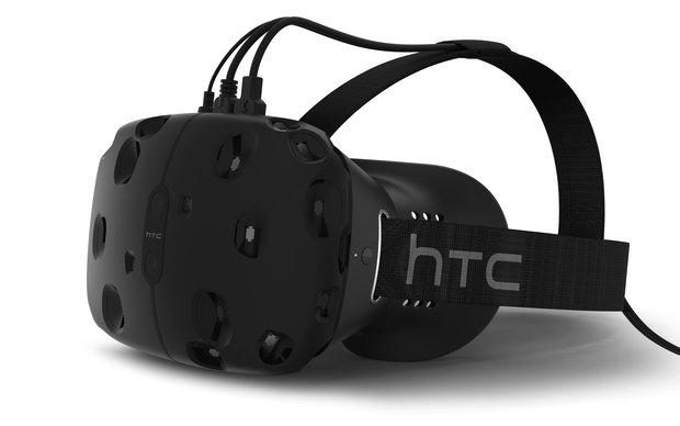 HTC Vive: Virtual-Reality Brille erscheint im April 2016