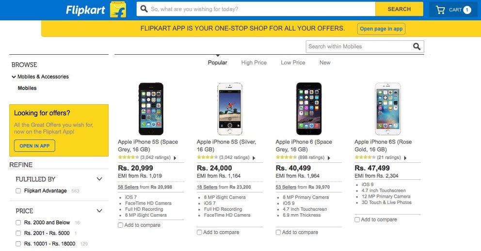 Apple senkt Preis für iPhone 5s in Indien auf 300 Euro