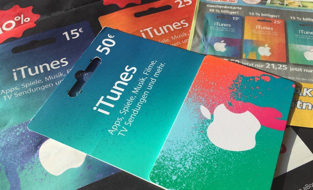 iTunes-Karten mit Rabatt im Mai 2018: Bis zu 20 Euro Bonus (Update)