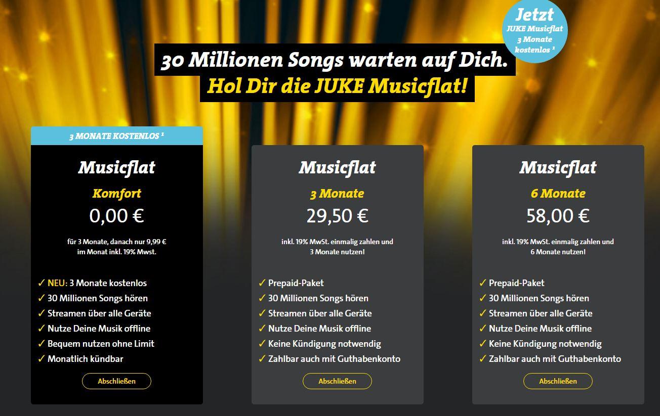 Juke Angebot An Musik Filmen Serien Gute Auswahl Giga