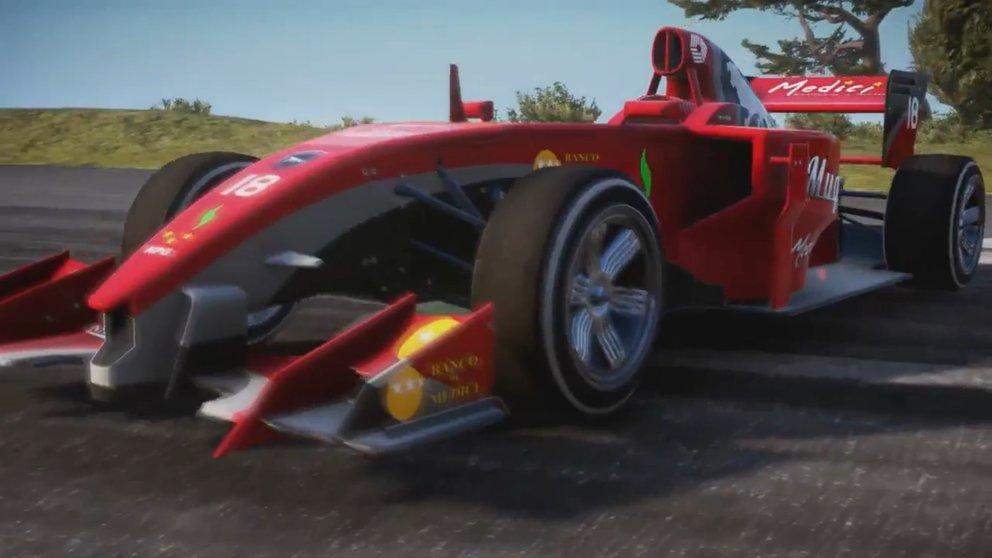 So sieht das Formel 1-Auto in Just Cause 3 aus