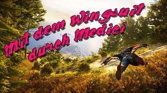 Der Wingsuit von Just Cause 3: Die schönsten Routen, die coolsten Stunts