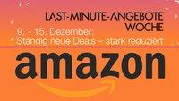 """Amazon ruft zur """"Last-Minute-Angebote-Woche"""": Blitz- und Tagesangebote auf den letzten Drücker"""