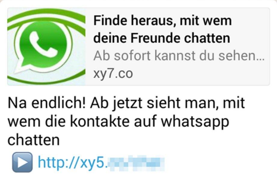 whatsapp kontakt kontrollieren