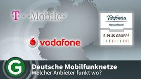 Deutsche Mobilfunknetze