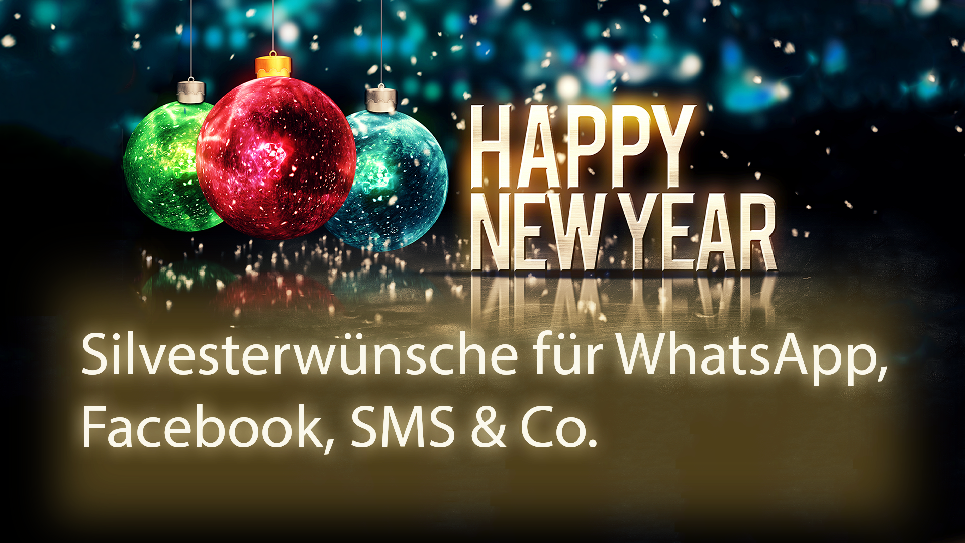 sms spruch silvester