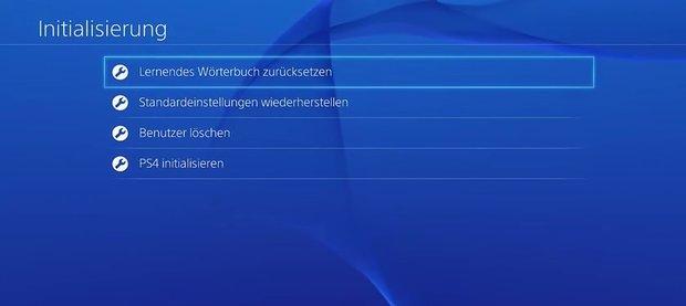 PS4 initialisieren: so geht's und das steckt dahinter