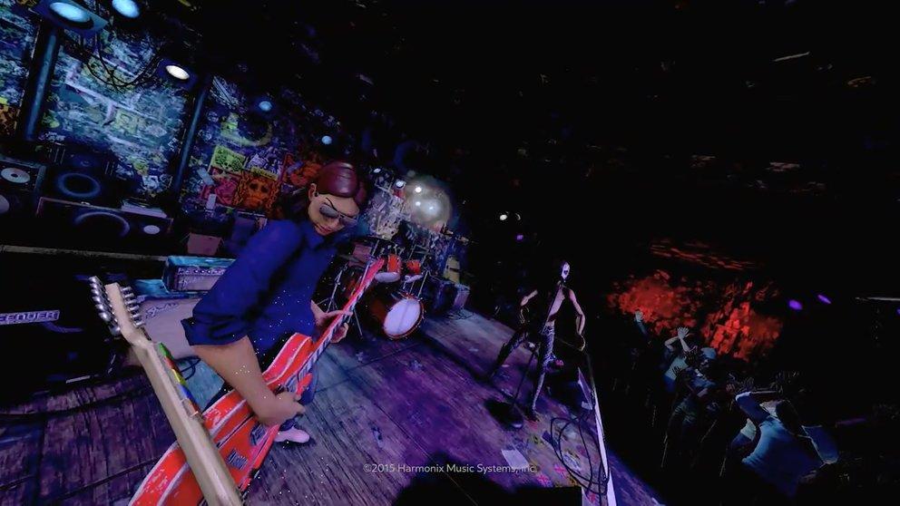 Rock Band VR: Aus der Ego-Perspektive kommt die Konzertatmosphäre optimal rüber.