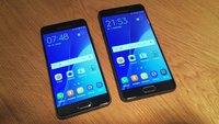 Galaxy A3 (2016) und Galaxy A5 (2016) vorgestellt: Samsungs neue Mittelklasse im S6-Look
