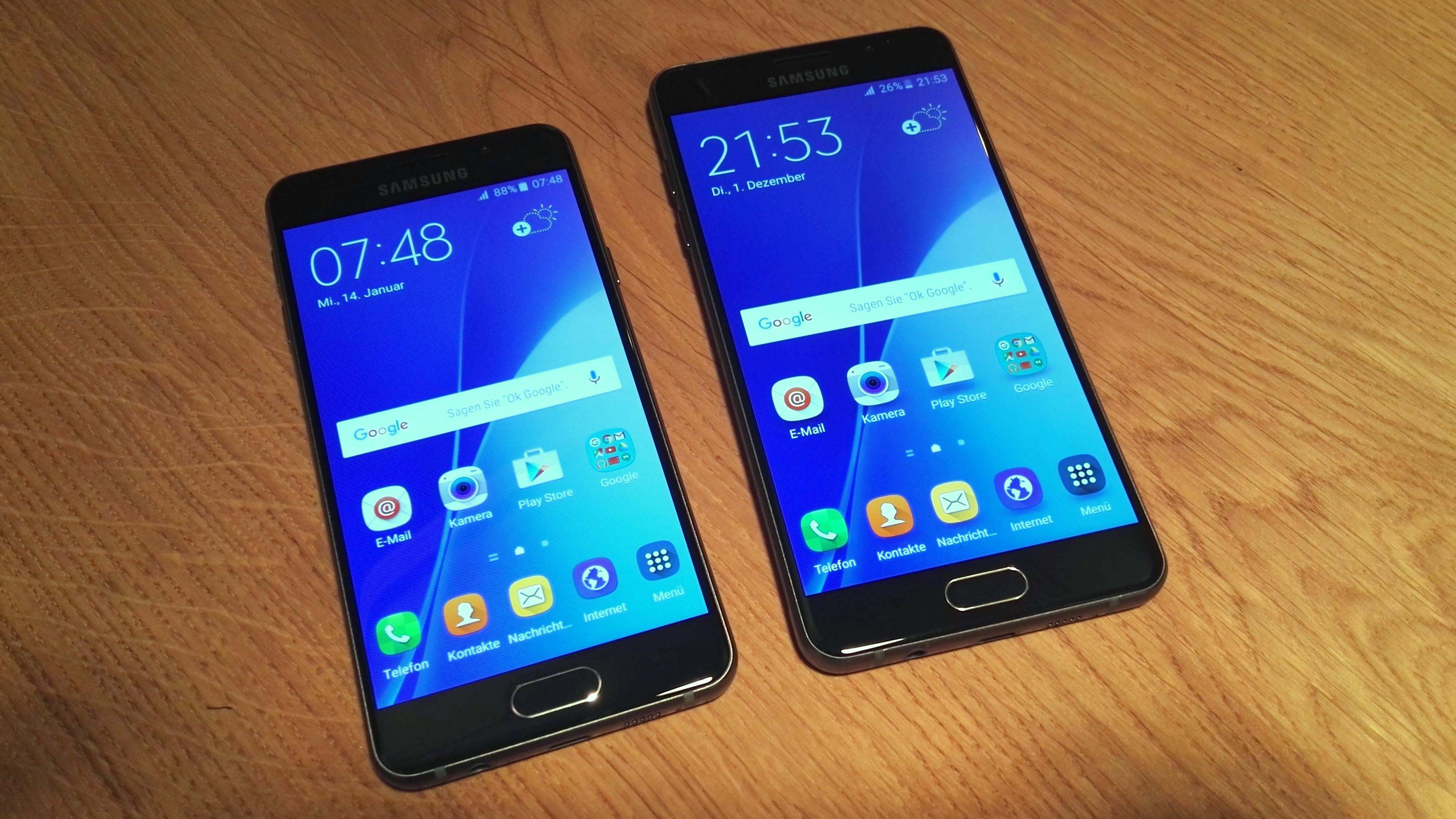 Galaxy A3 2016 Und A5 Vorgestellt Samsungs Neue Mittelklasse Im S6 Look GIGA