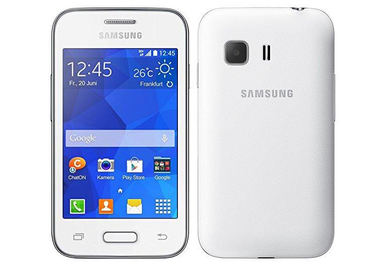 Das Galaxy Young 2 von Samsung ist vor allem für kleine Kinderhände gut zu bedienen.