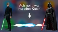 Star Wars 7 und Siri-Kommentare um Macht, Jedis und Katzen