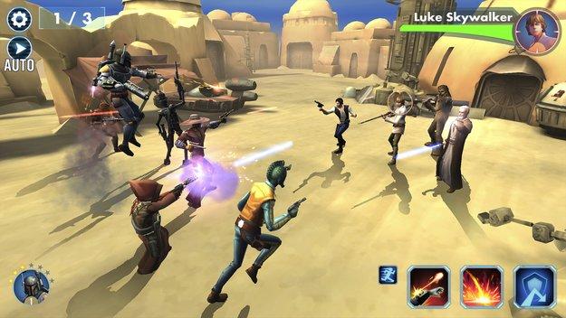 Star Wars - Galaxy of Heroes: Cheats, Tipps und Bündnisse