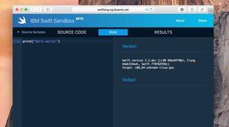 IBM macht's möglich: Programmiersprache Swift im Browser ausprobieren