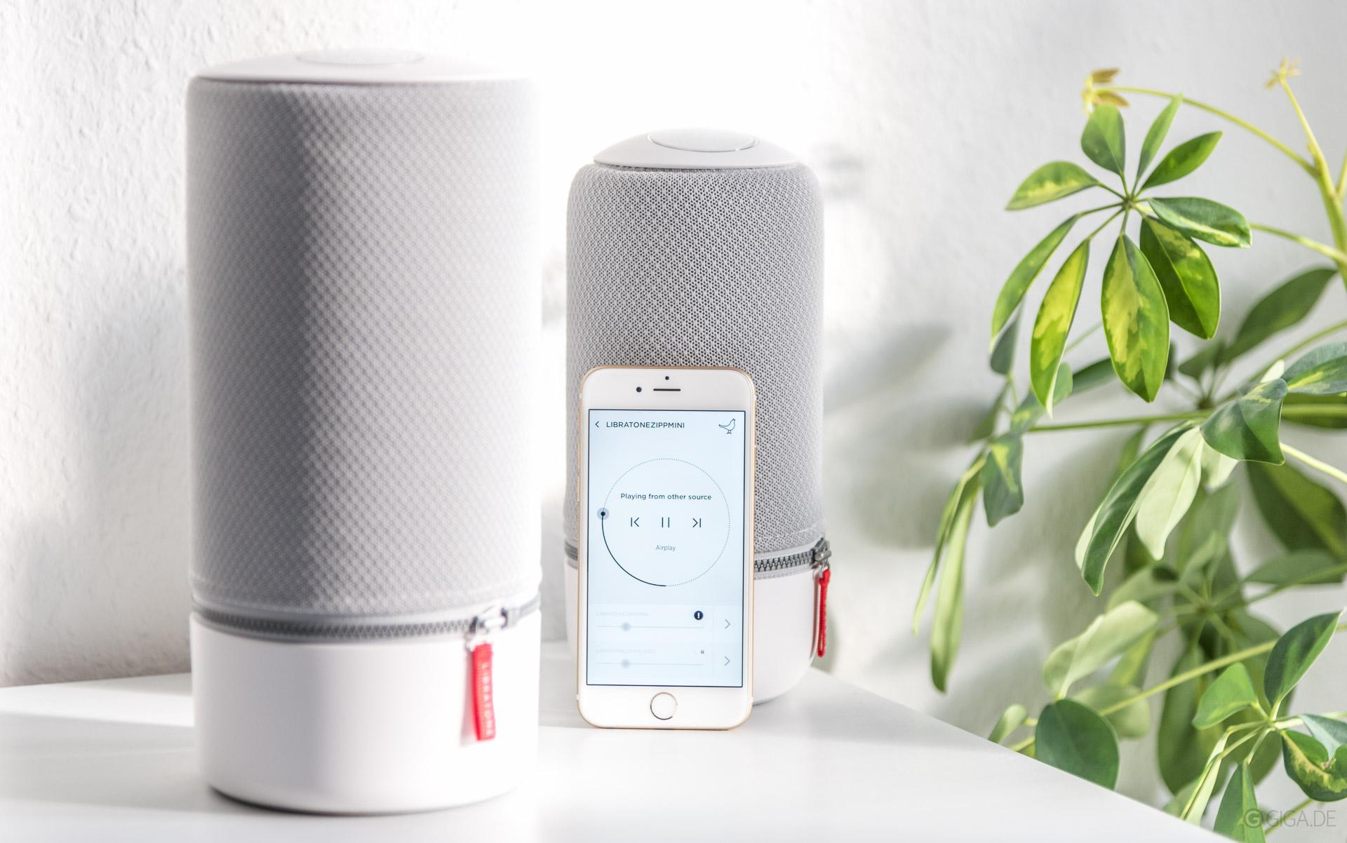 Test Libratone Zipp Mini Lautsprecher App
