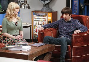 Howard und Bernadette in the Big Bang theory