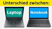 Unterschied: Laptop und Notebook – Einfach erklärt