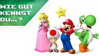 Wie gut kennst du Super Mario, Luigi, Prinzessin Peach & Co.? (Quiz)