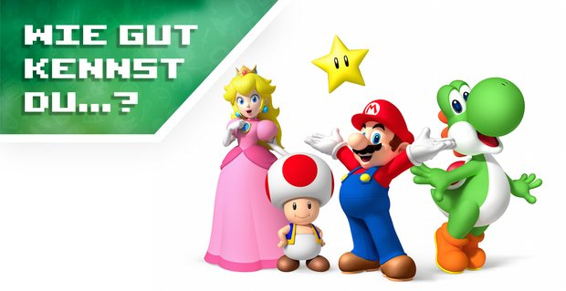 Wie gut kennst du Super Mario, Luigi, Prinzessin Peach & Co.? (Quiz)