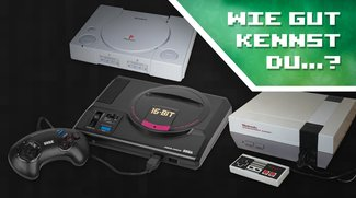 Wie gut kennst du Retro-Videospielkonsolen?