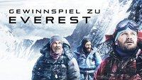 Gewinnt zum DVD-Start von EVEREST drei Mountain-Pakete mit Steelbook & Buch