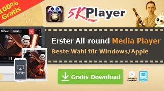 5KPlayer Jubiläum Giveaway: Video Converter Vollversion