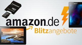 64 GB microSD-Speicherkarte und Lenovo-Tablets in den Amazon Blitz-Angeboten