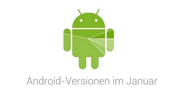 Android-Versionsverteilung im Januar 2016: Marshmallow wächst nur langsam