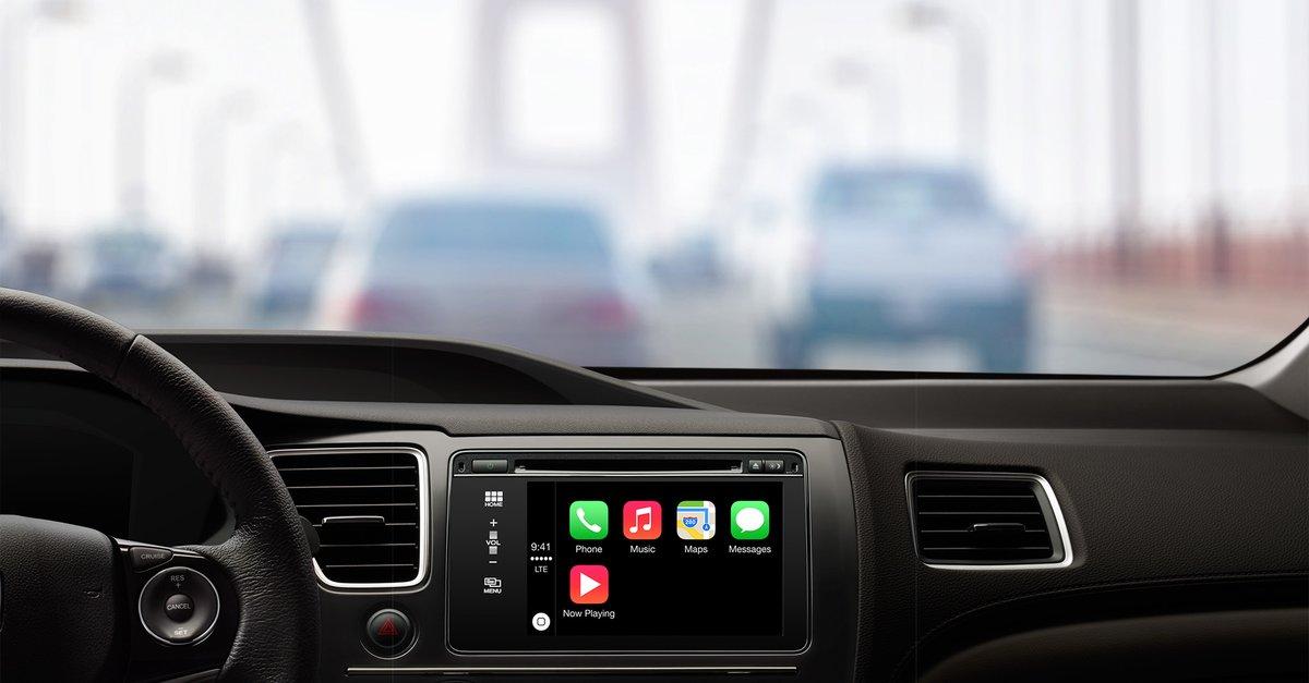 kabelloses carplay apple verbietet volkswagen die demonstration auf der ces giga. Black Bedroom Furniture Sets. Home Design Ideas