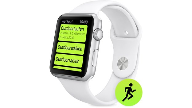 Workout-App: So funktioniert die Trainings-App der Apple Watch
