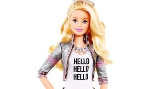 Portal: Barbie im GLaDOS-Cosplay